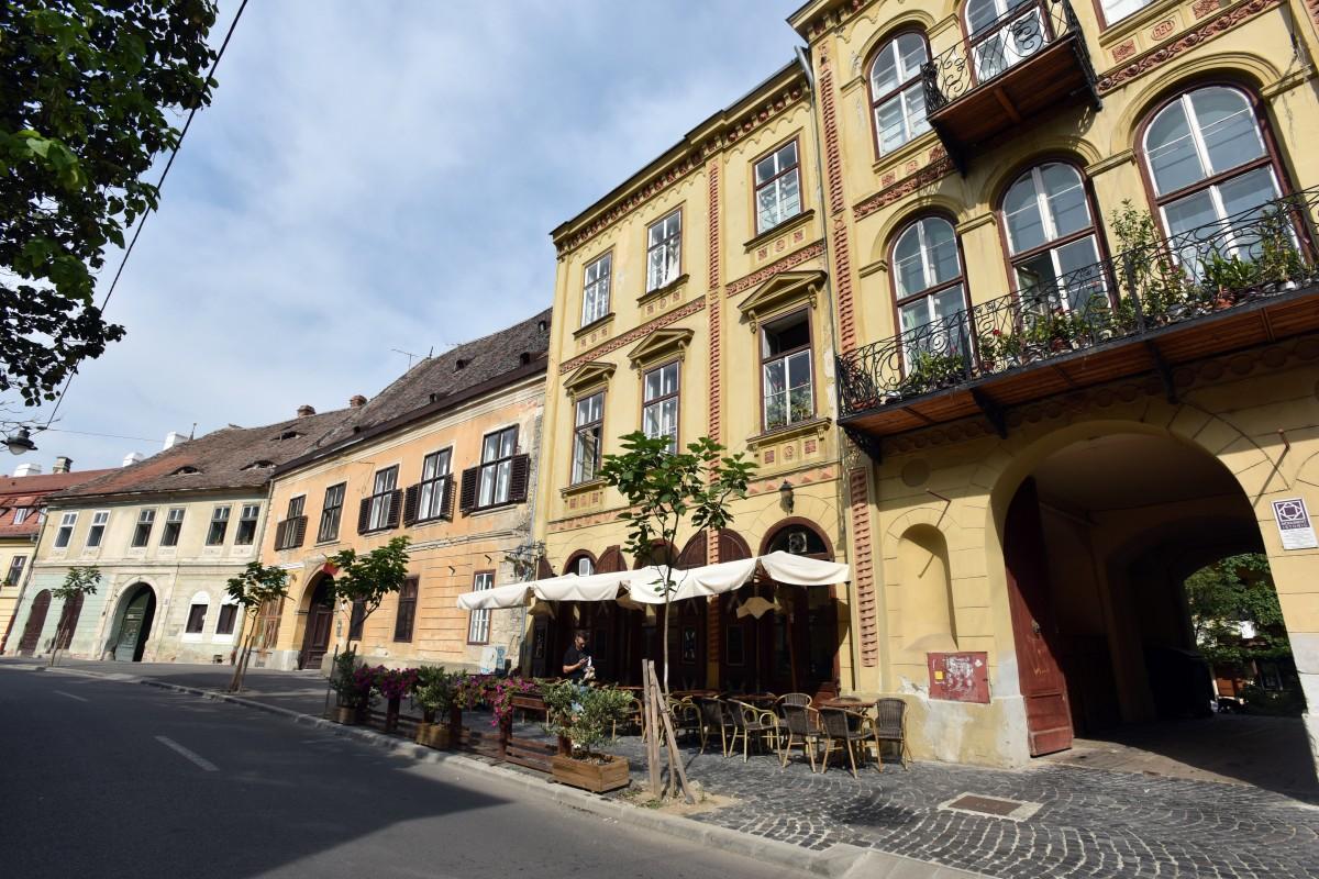 Cum se fură în centrul istoric al Sibiului