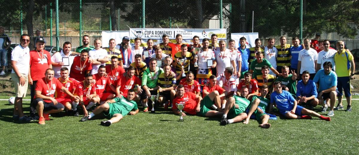 S-au stabilit grupele Cupei României la Minifotbal 2018