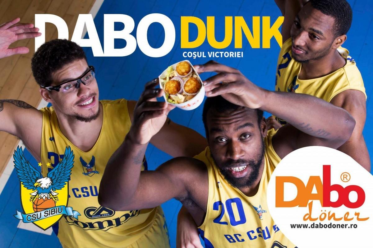 """""""Dabo-Dunk"""", noua atracție culinară a baschetului sibian"""