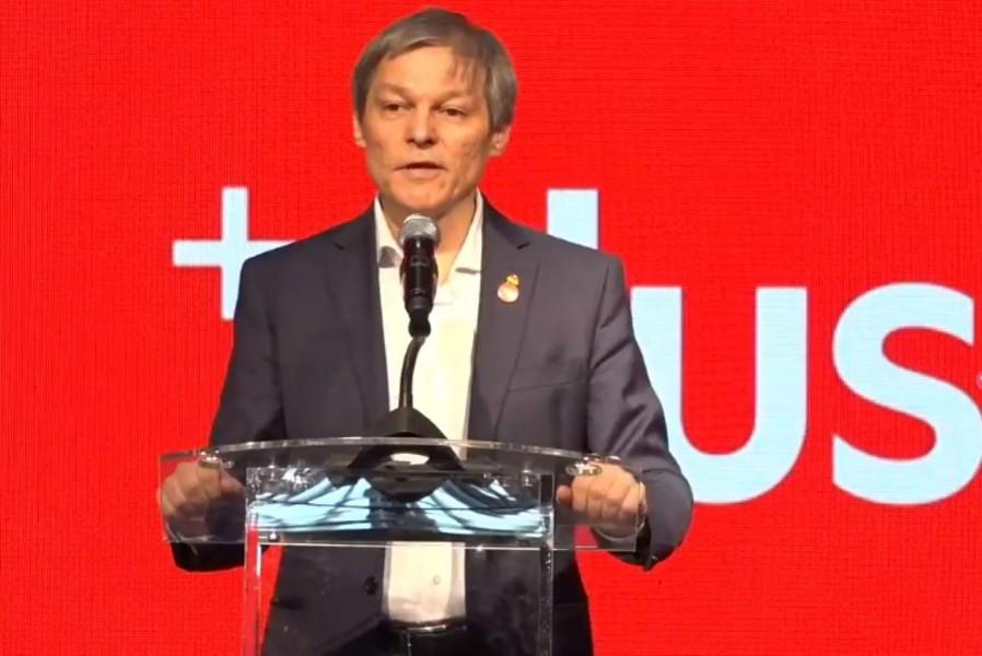 """Dacian Cioloș a fost ales președinte al Partidului PLUS. """"Este un mandat de maxim un an"""""""