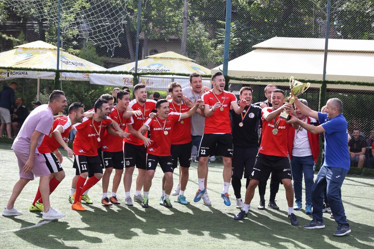 O echipă din București a câștigat Cupa României la Minifotbal, organizată la Sibiu