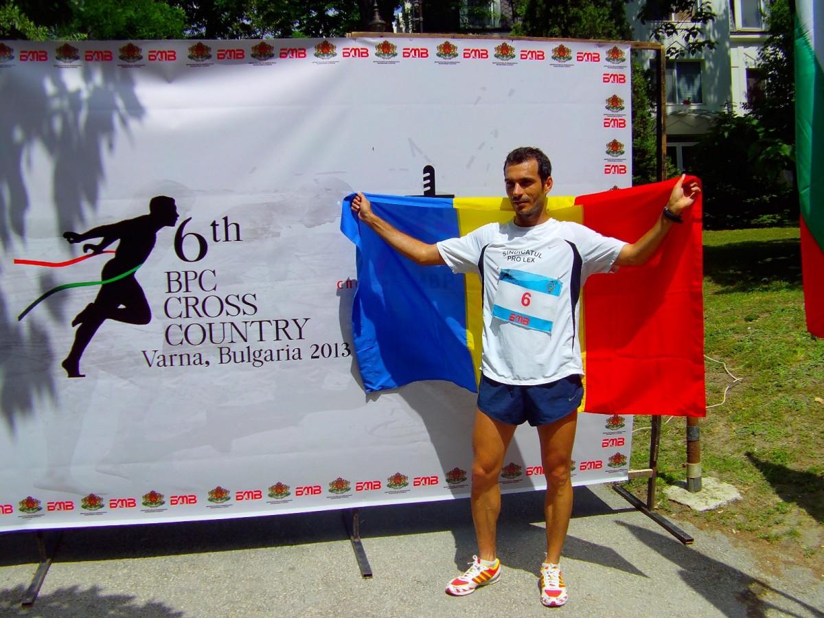 Un polițist sibian aleargă mâine la Maraton pentru reabilitarea Palatului Copiilor