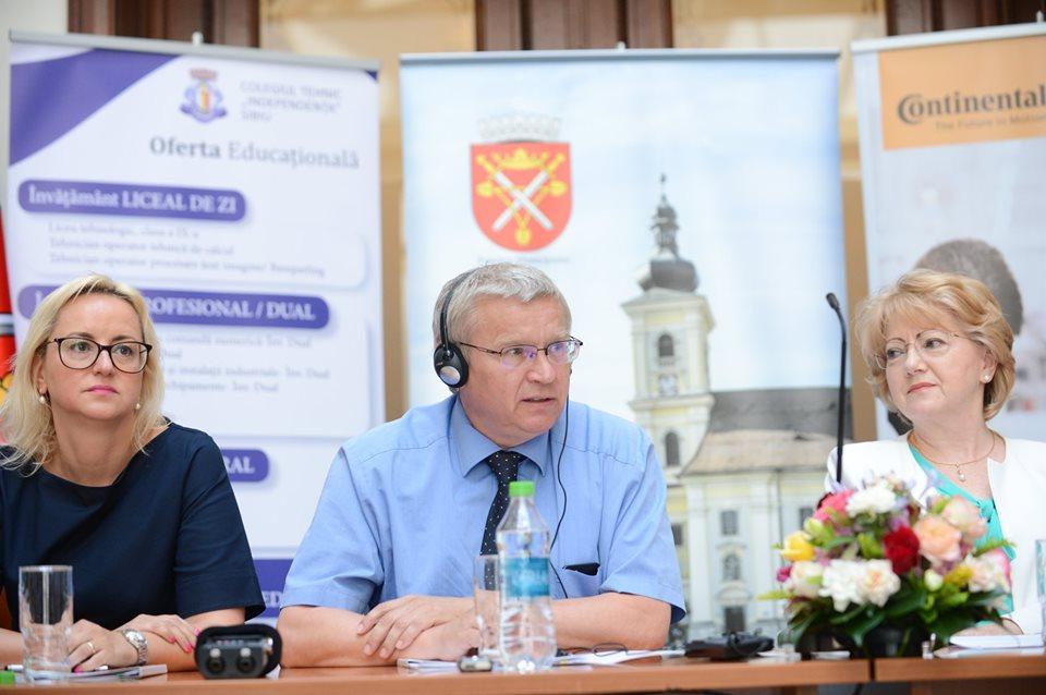 Continental investește 15.000 de euro în Colegiul Independența și dublează numărul de clase de învățământ dual
