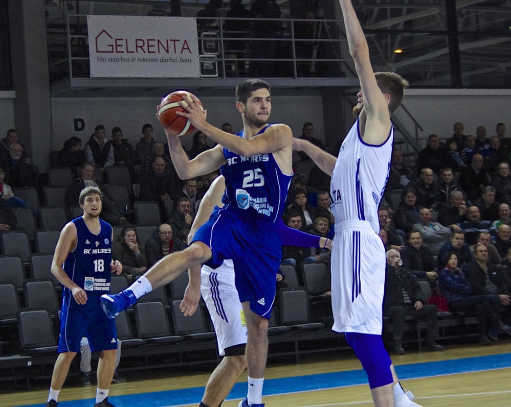 Jucător tânăr, cu experiență în Liga Națională, ultima achiziție a BC CSU Sibiu