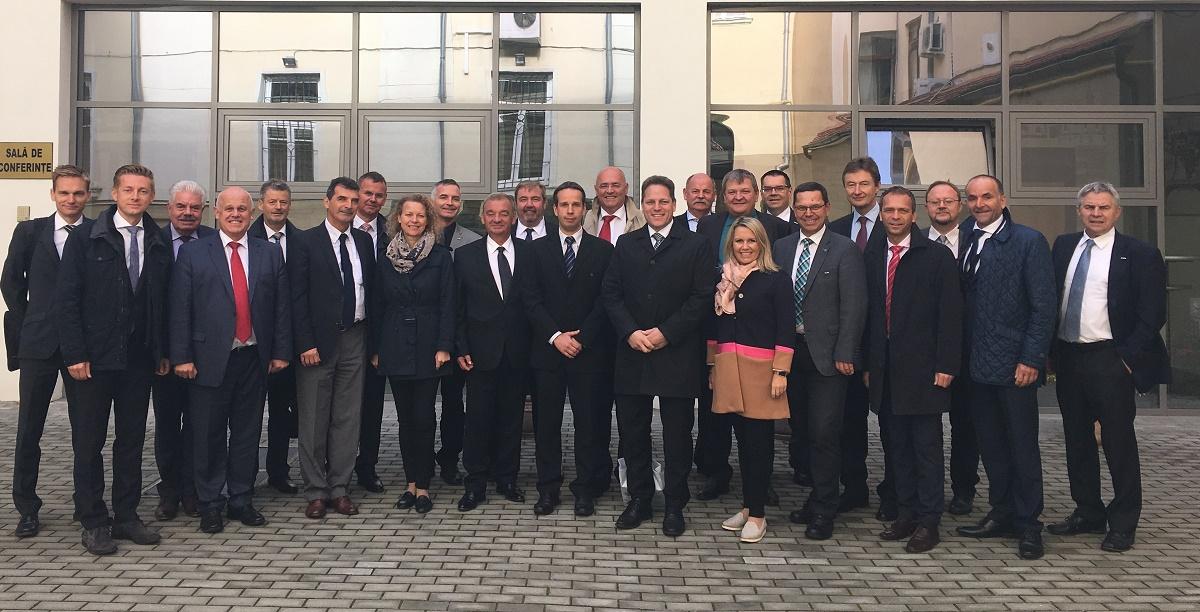 Delegație de oameni de afaceri austrieci, interesați de a investi la Sibiu