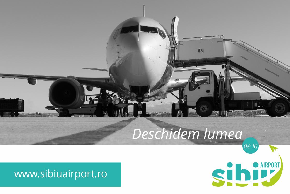 Record: Peste 500.000 de pasageri înregistrați pe Aeroportul Sibiu în 2017