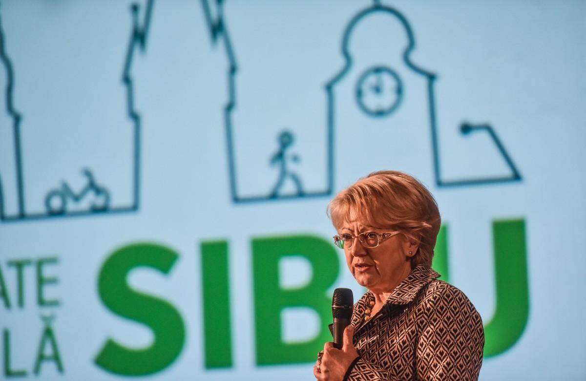 Primarul Astrid Fodor: Șelimbărul și Cisnădia s-au dezvoltat ca-n Vestul sălbatic | Video