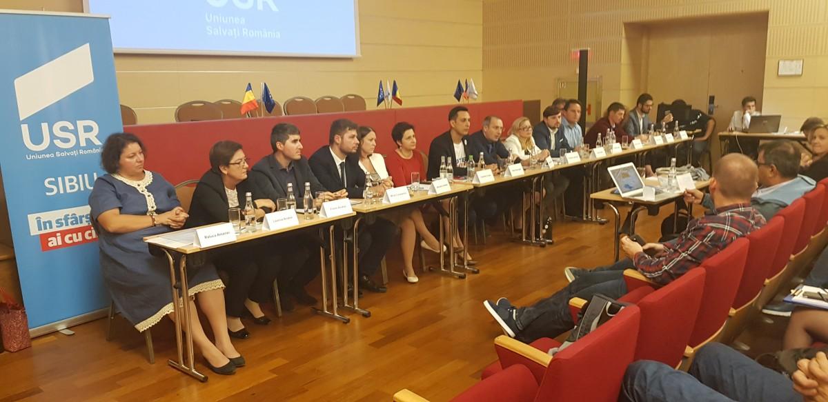 VIDEO O altă variantă de politică. La Sibiu s-a desfășurat prima competiție internă a unui partid pentru locurile pe listă