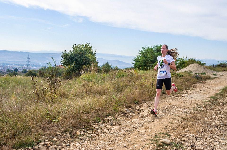 """Maraton Sibiu. Diana, câștigătoarea cursei de zece km și pasiunea ei de doi ani. """"Au zis că sunt prea mare"""""""