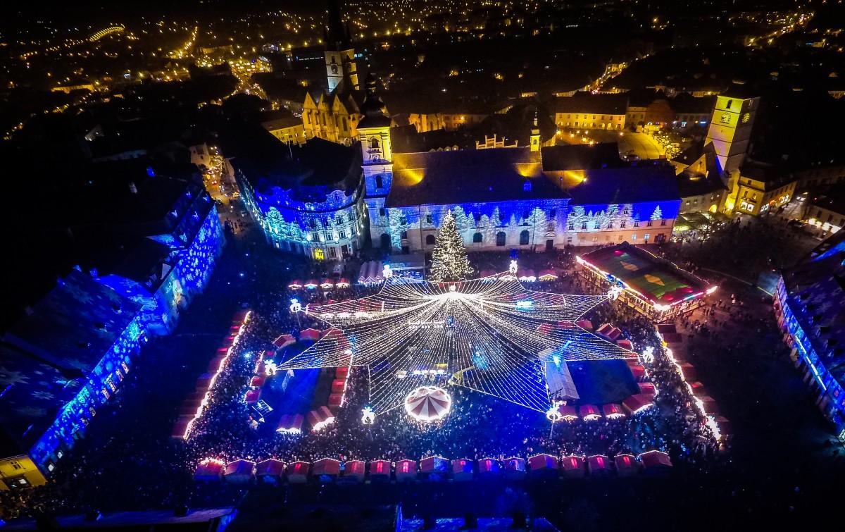 Care este cel mai frumos târg de Crăciun din România