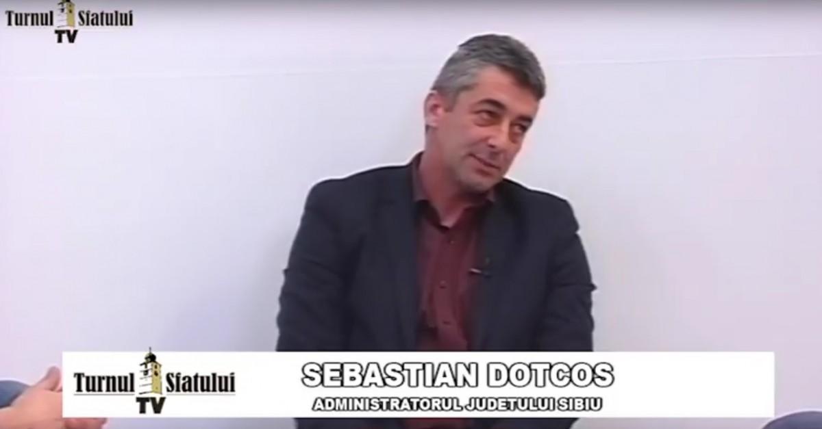 TSTV, Sebastian Dotcoș, administratorul județului: Sunt oameni acolo care merg cam cu piciorul pe frână