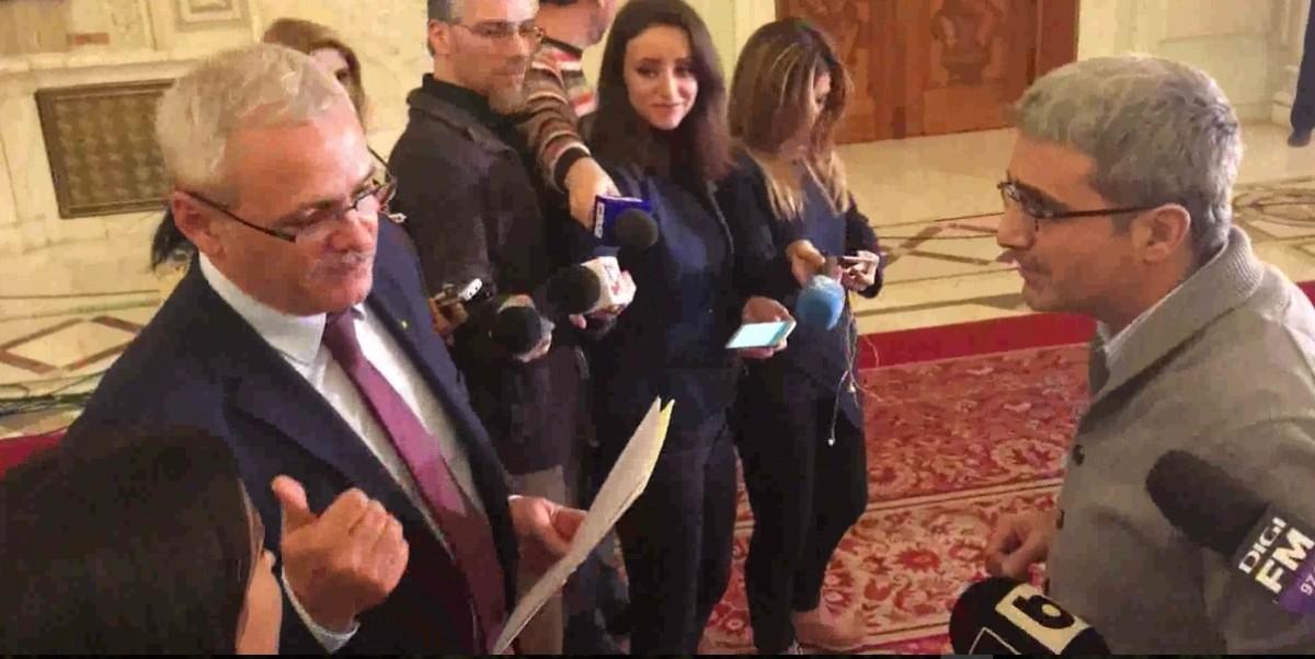 Video| Dragnea, apostrofat de Turcescu: De ce n-aţi venit la şedinţa pe care aţi convocat-o? Ar trebui să vă fie ruşine!