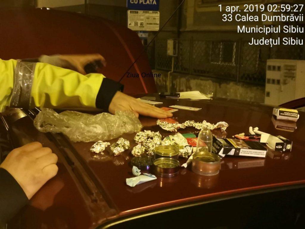 ACTUALIZARE Tineri prinșicu droguri în zona centrală a Sibiului. DIICOT a preluat cazul