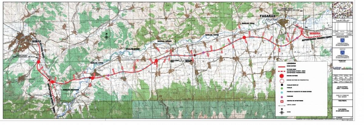 RevizuireaSF pentru Autostrada Sibiu-Făgăraș. CNAIR a depus aplicația de finanțare după 3 ani de la semnarea contractului