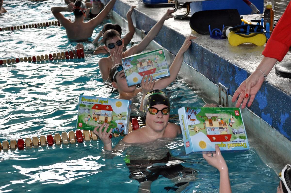 """Ziua Mondială a Apei – bucurie și culoare în grădinițe și școli! """"Shape of water"""", pe podium"""