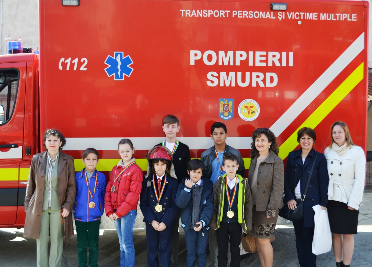 Elevii Martin Horațiu și Muntean Gabriel au obținut locul I la concursul organizat de ISU Sibiu