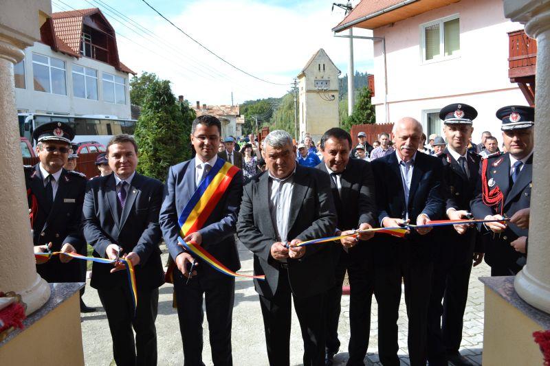 FOTO - ISU a inaugurat astăzi o nouă subunitate, la Săliște