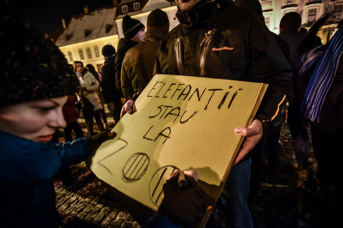 Protest autorizat
