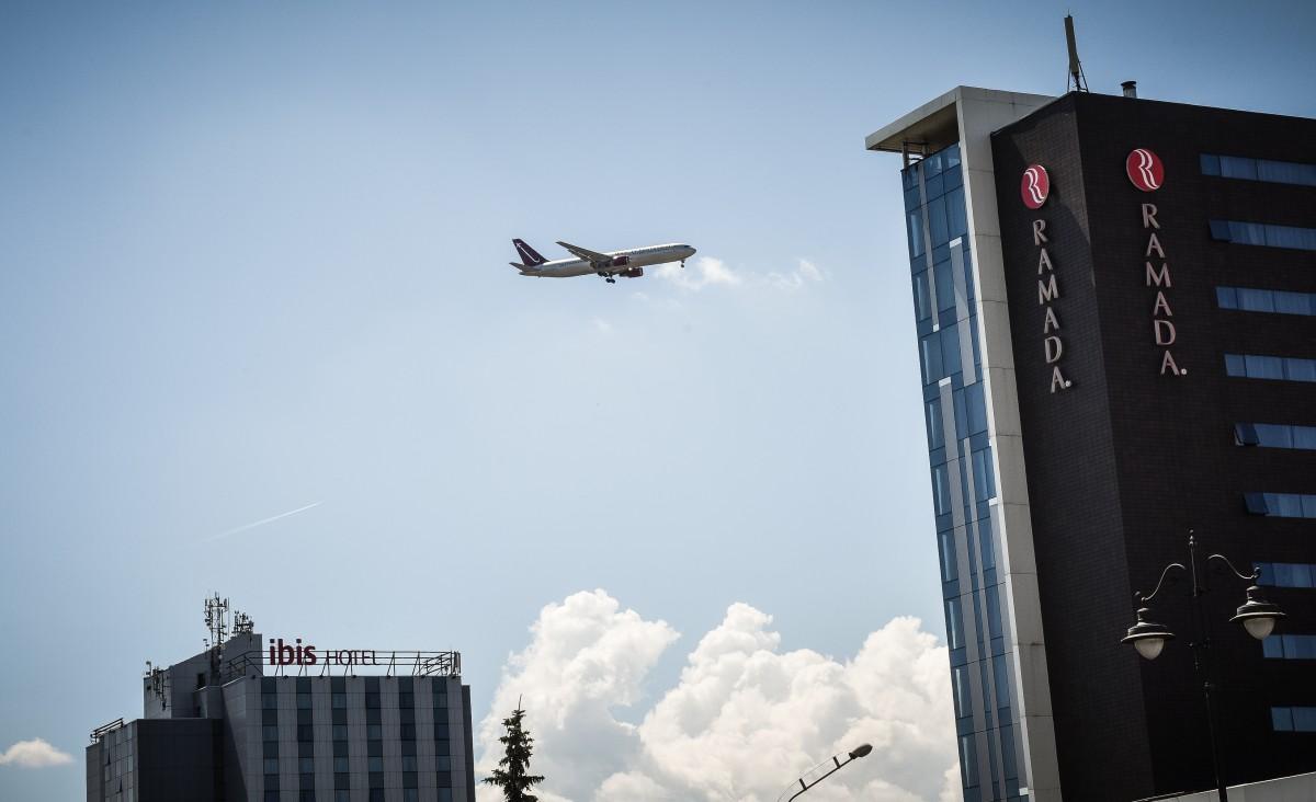 Aeroportul Internațional Sibiu: traficul de pasageri a crescut cu peste 20%