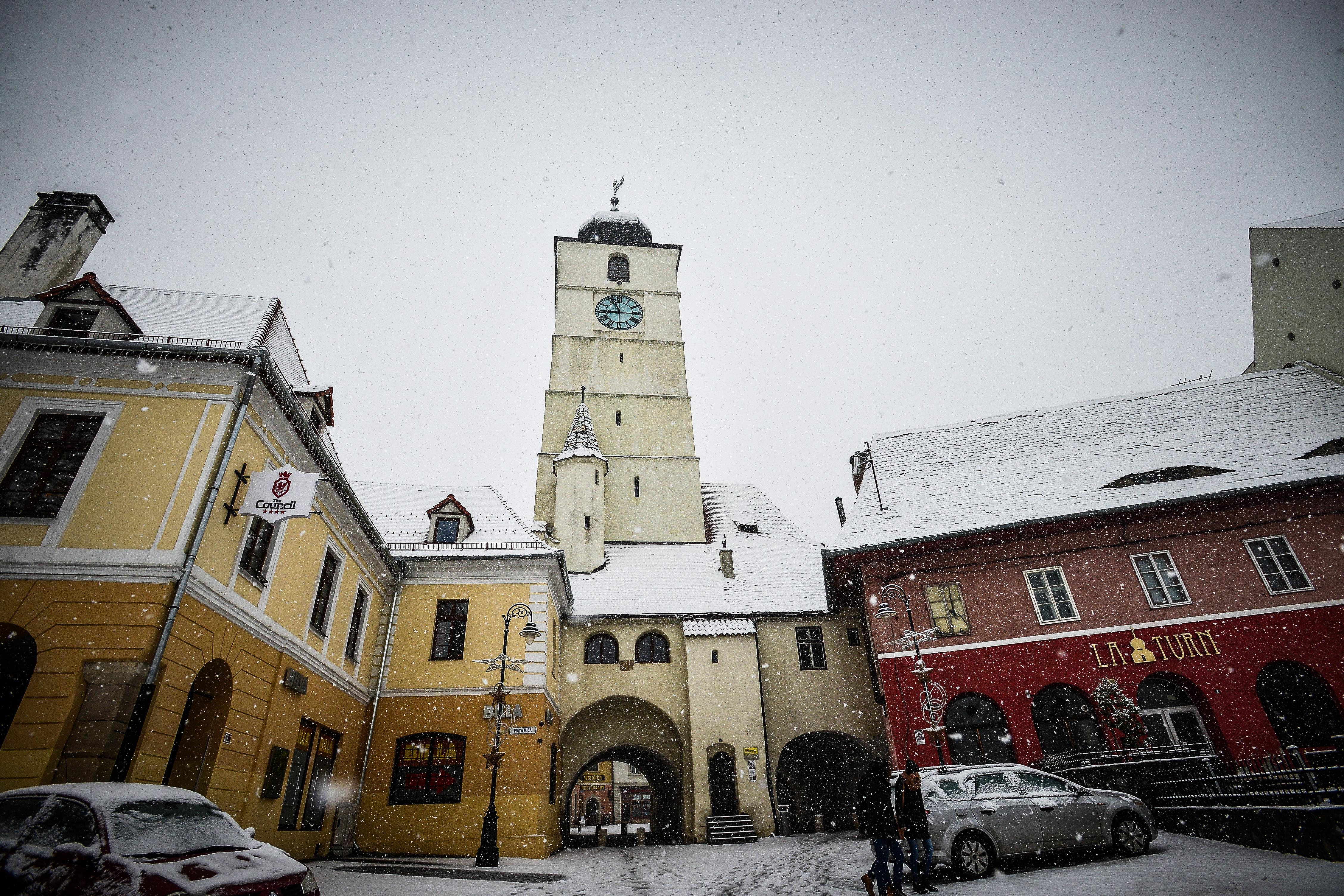 1586.Turnul Sfatului se prăbușește