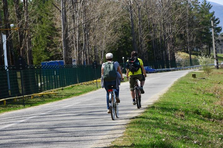La pedalat cu polițiștii, pentru copiii din Centrul de Plasament Orlat