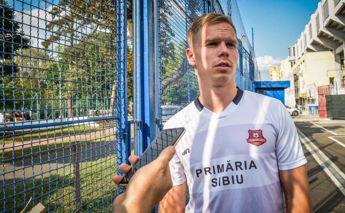 FC Hermannstadt începe pregătirile pentru noul sezon. Ilja Antonov primul jucător care pleacă