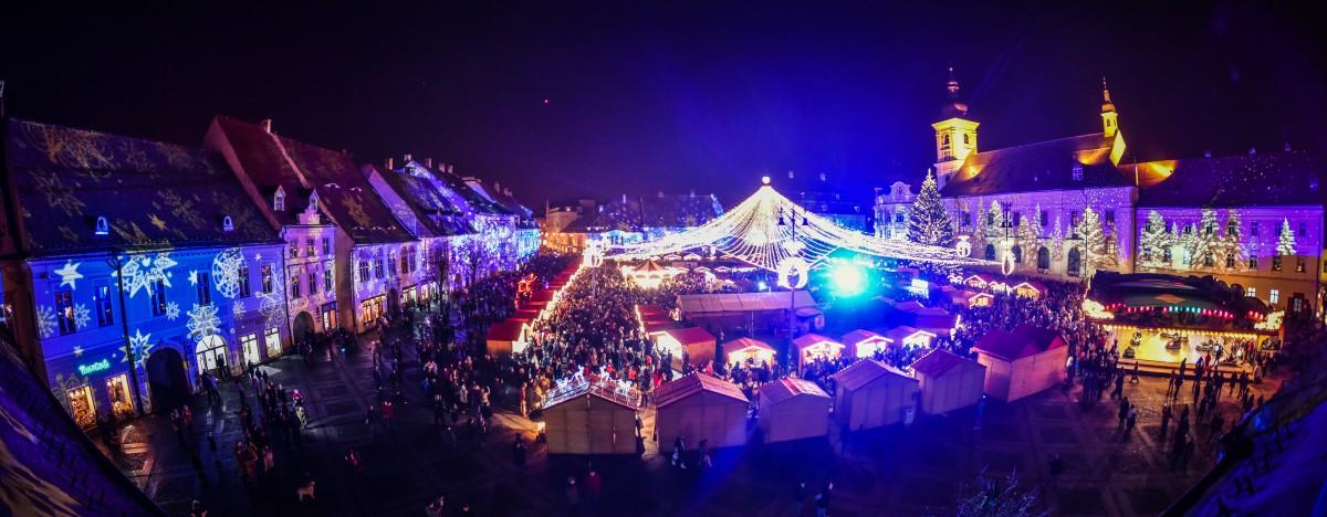 Crăciunul începe în Piața Mare |foto-video