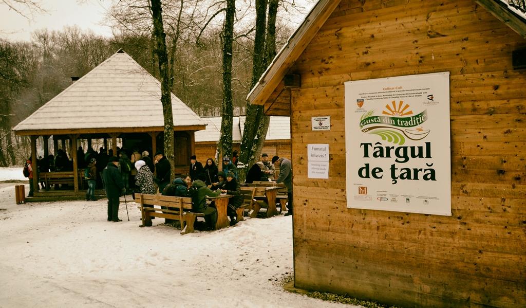 Vizitatorii Muzeului ASTRA intră în weekend în spiritul sărbătorilor de iarnă