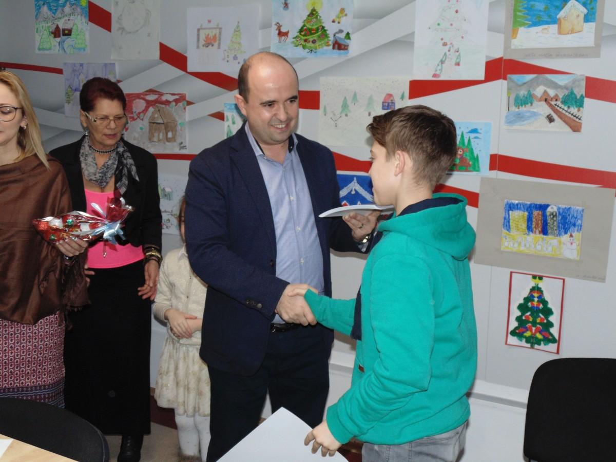 """PSD Sibiu a premiat câștigătorii concursului de pictură. """"Am încercat să încurajăm creativitatea copiilor"""""""
