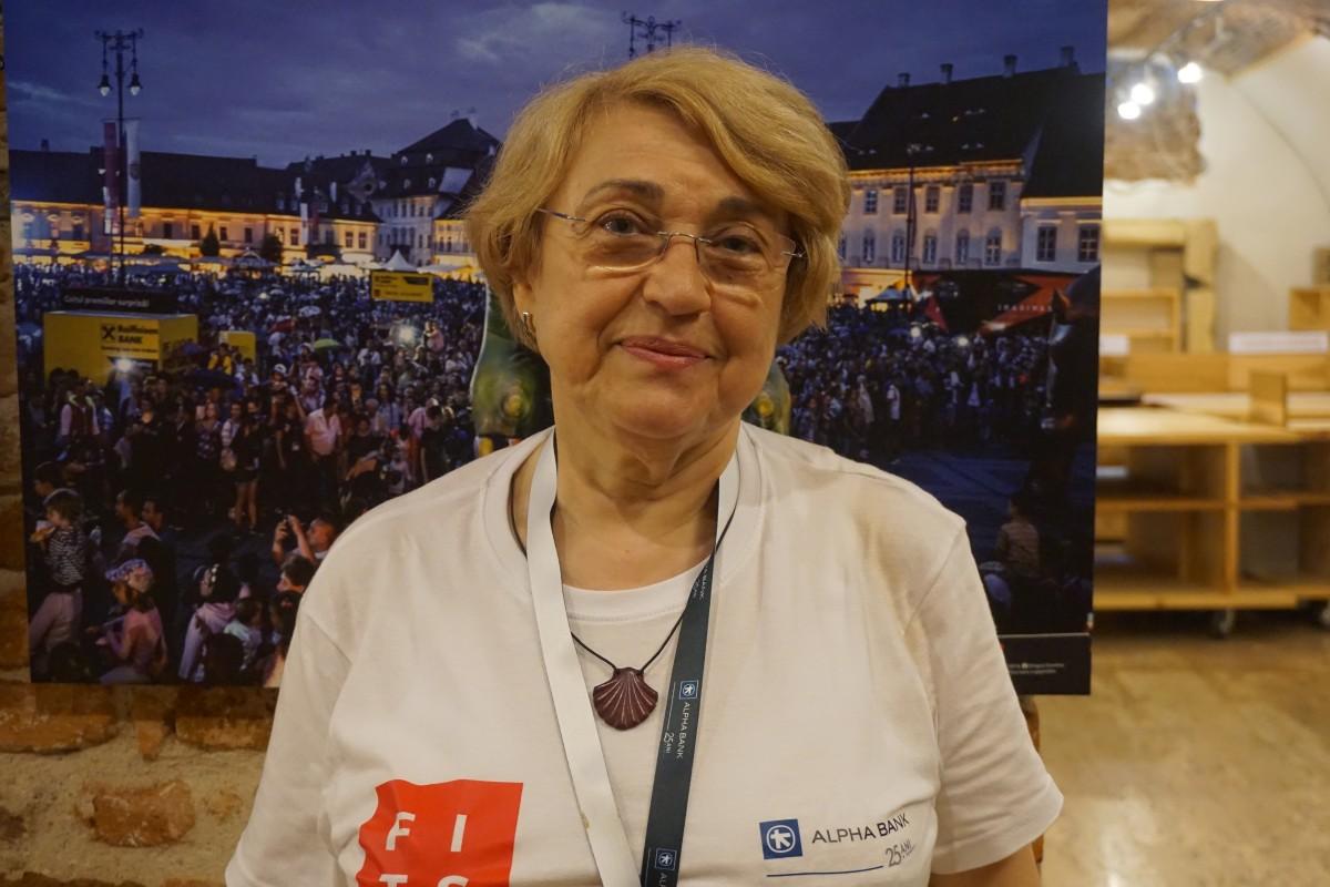 """Voluntar FITS la 69 de ani: """"Este o motivație personală care nu cred că ține de vârstă"""""""