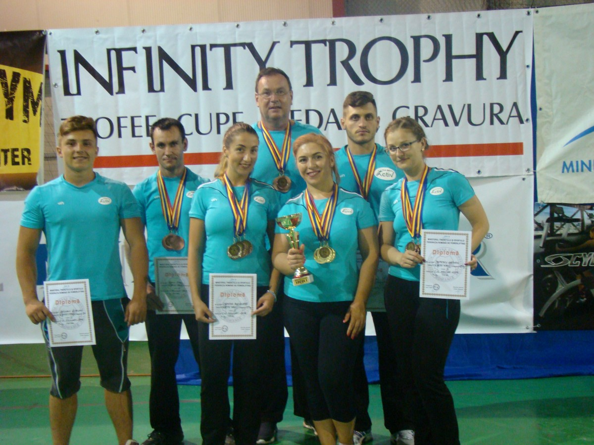 Clubul Activ Sibiu, campion național la powerlifting feminin