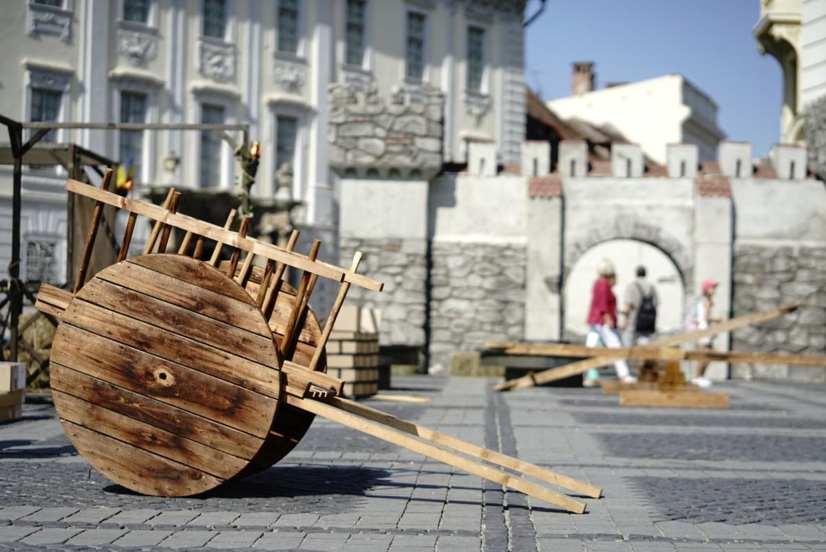 Blestemul Vrăjitoarei Despina cuprinde Sibiul - Începe Festivalul Medieval ''Cetăți Transilvane''