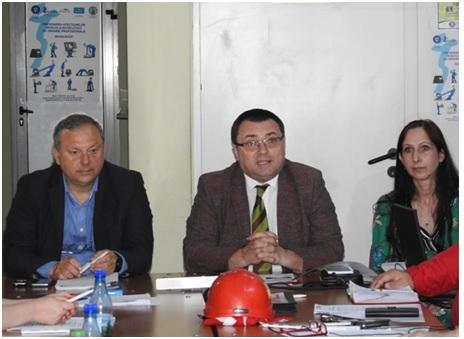 Workshop la I.T.M. Sibiu pentru prevenirea afecţiunilor musculo-scheletice