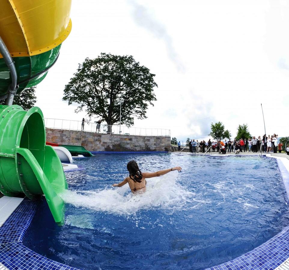 FOTO – Cel mai nou aqua park din România, deschis la nici o sută de km de Sibiu