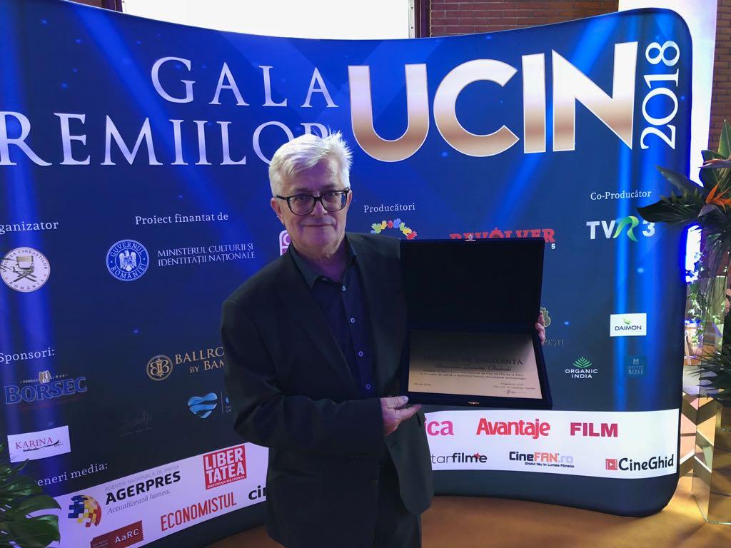 Uniunea Cineaștilor îl premiază pe regizorul Dumitru Budrala