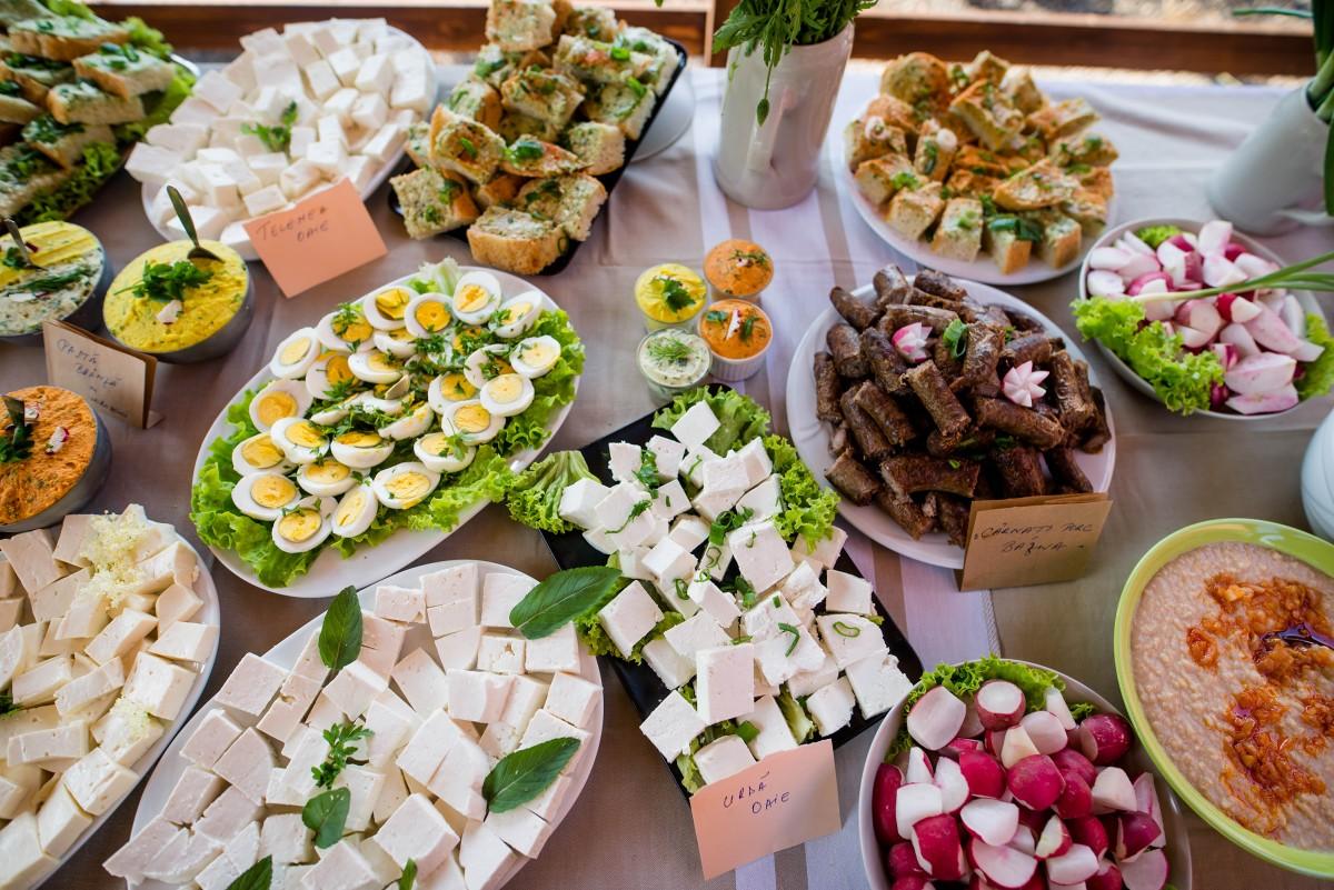 Mâncare tradițională sibiană la Mozaic Jazz Festival