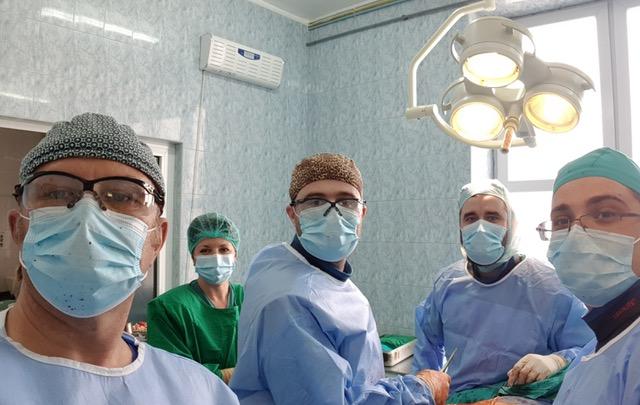 Prima operație de transplant osos a Spitalului Județean Sibiu, după un deceniu