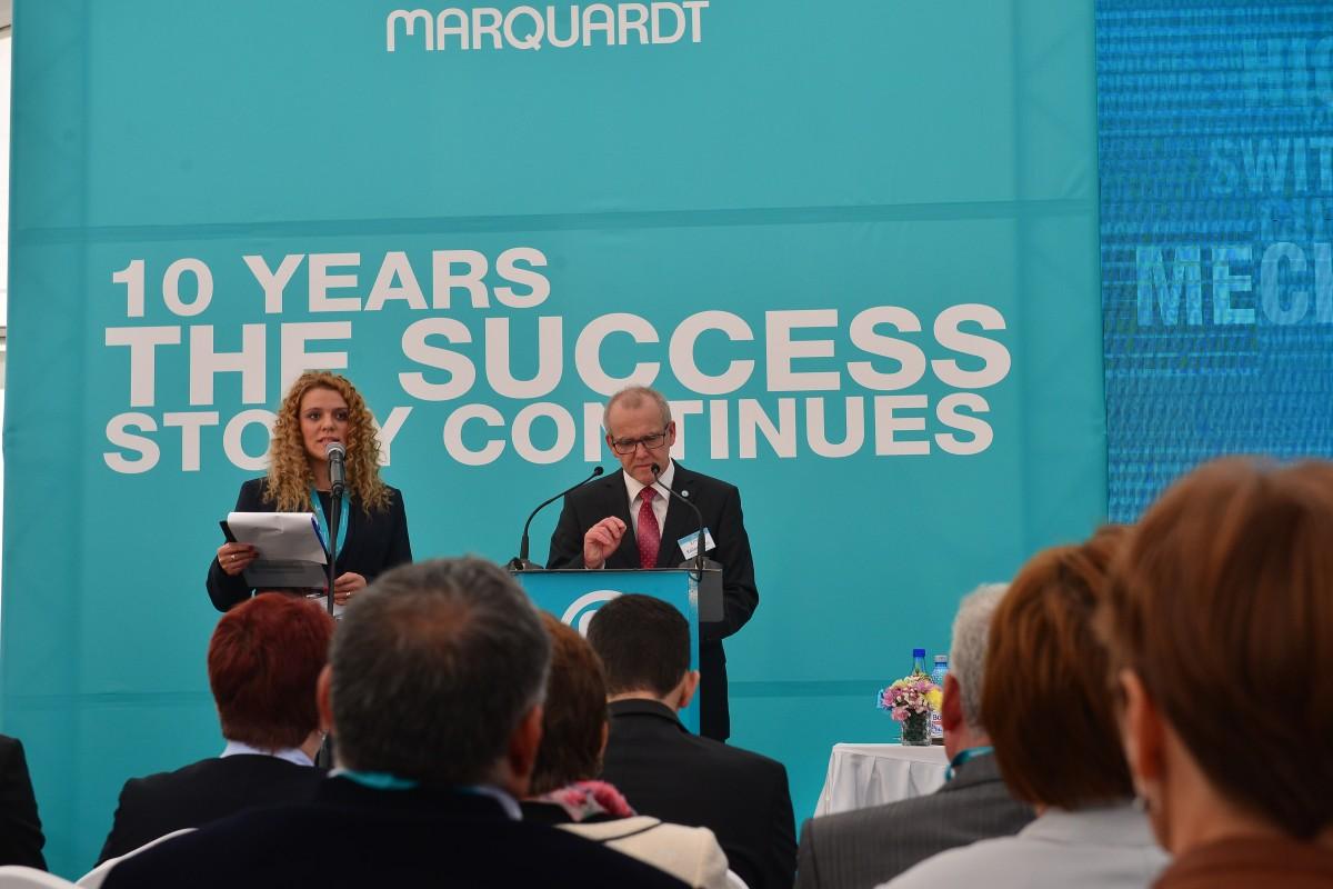 """A doua multinațională din Sibiu a împlinit zece ani: """"e cea mai mare filială Marquardt"""""""