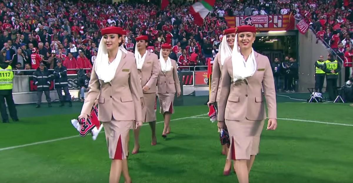 Exemplul de pe Estádio da Luz (VIDEO)