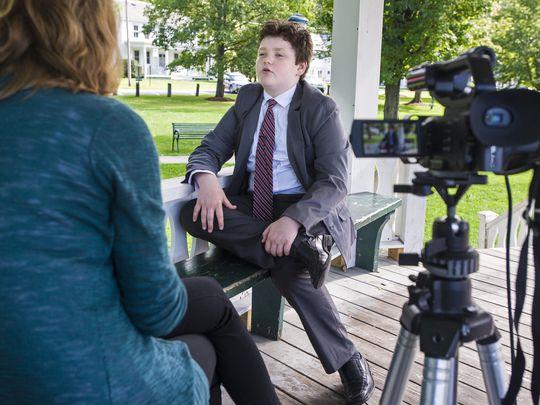 Un tânăr de 14 ani candidează pentru funcția de guvernator în SUA