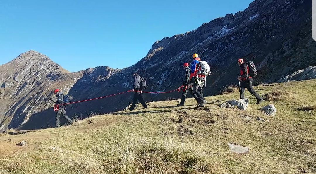 Jandarmii montani sibieni au participat la unexerciţiul de salvare-evacuare cu suport aerian