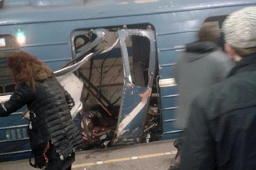Cel puţin 10 morţi şi mai mulţi răniţi într-oexplozie produsă la metroul din Sankt Petersburg. VIDEO