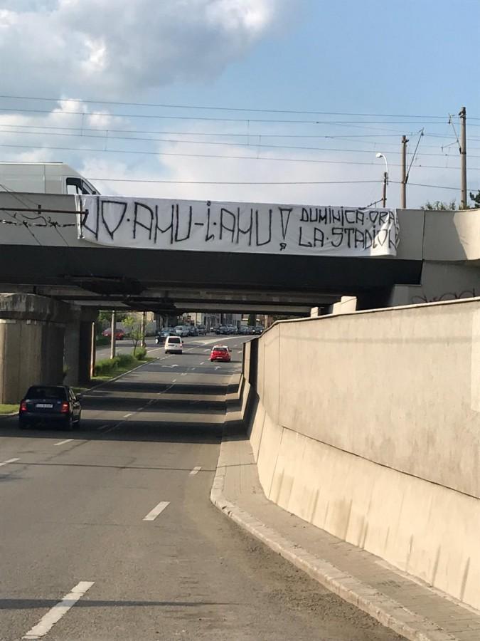 """Clujul se pregătește de meci: """"No, amu-i amu!"""""""