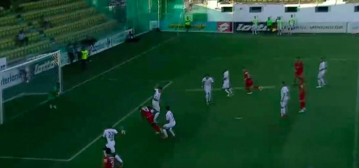 FC Hermannstadt pierde la Chiajna. Festival al ratărilor