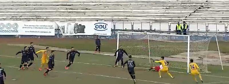 VIDEO - FC Hermannstadt, doar 0 la 0 cu Afumați. Sibienii pierd locul I