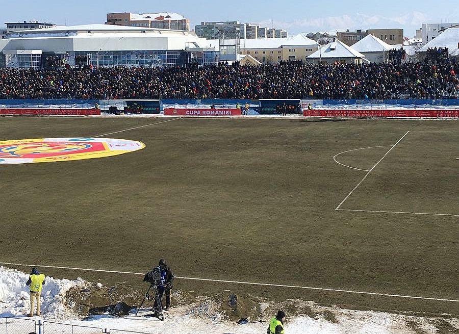 FC Hermannstadt va lupta cu Gaz Metan Mediaș pentru finala Cupei României