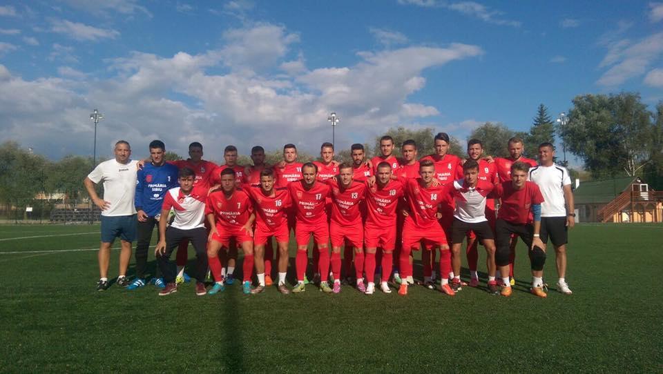 FC Hermannstadt învinge la scor în primul amical din cantonament