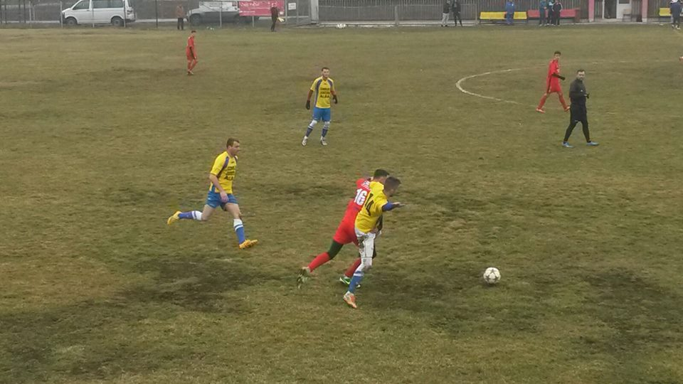 FOTO   Al doilea eșec din amicale fӑrӑ gol marcat. FC Hermannstadt a fost învinsӑ de formaţia din Liga a III-a Performanţa Ighiu