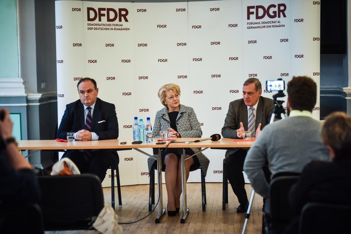 FDGR cere o lege privind statutul minorităților