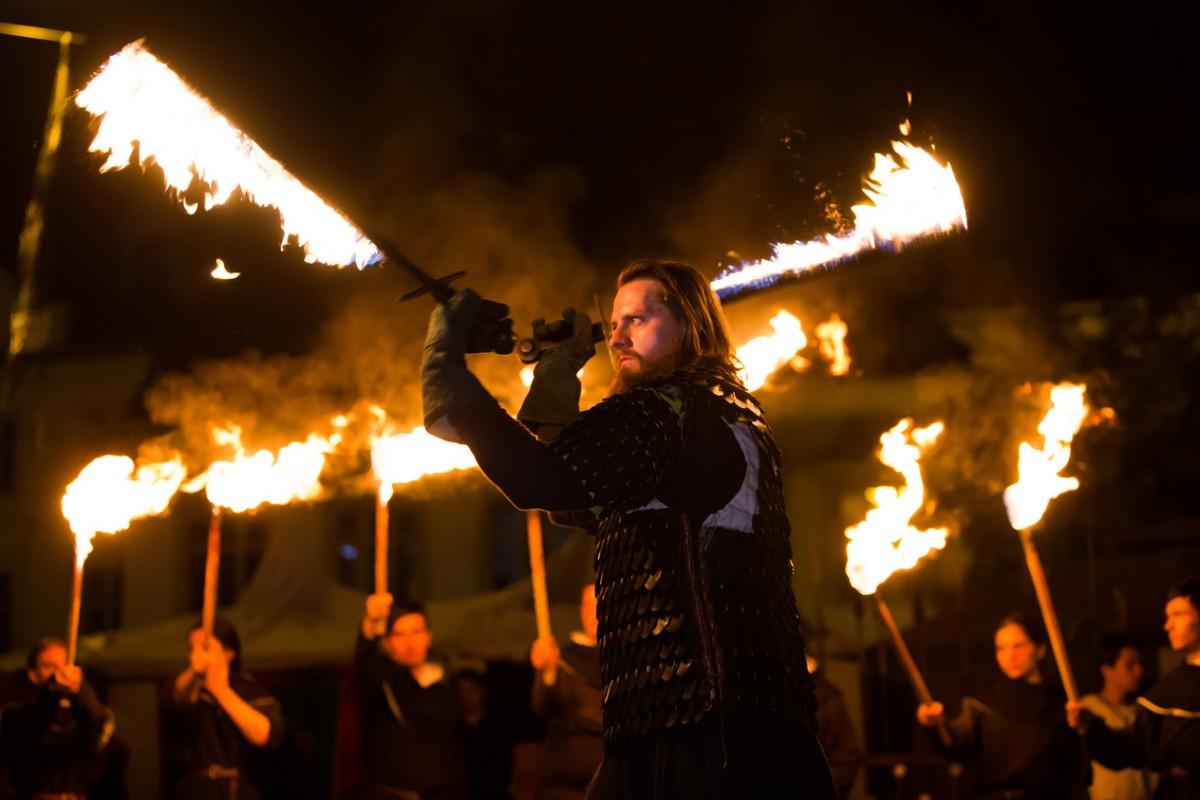 GALERIE FOTO - Sibiu a scăpat de blestemul vrăjitoarei Despina